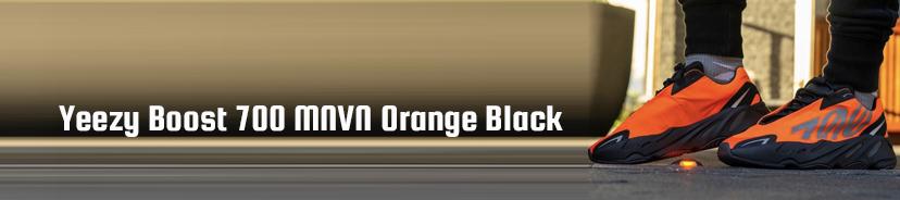 Yeezy Boost 700 MNVN Orange Black