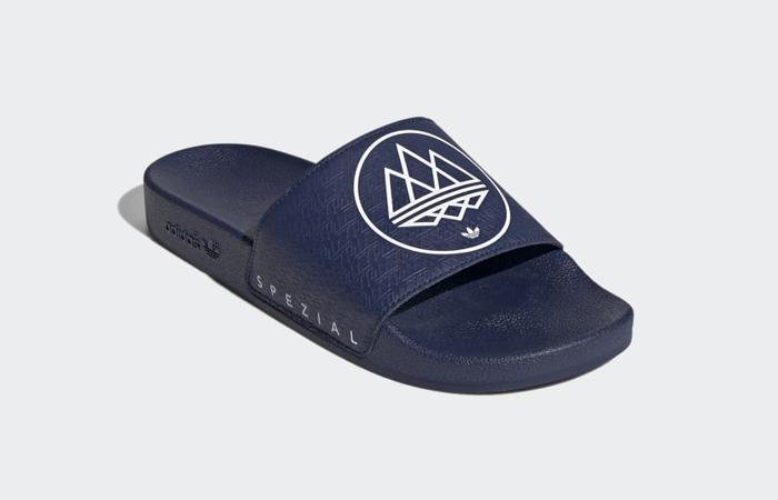 adidas Spezial Adilette Dark Blue FX1057 03