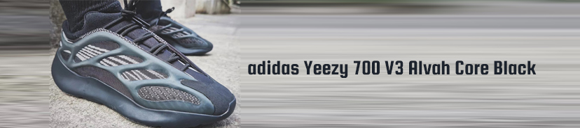 adidas Yeezy 700 V3 Alvah Core Black