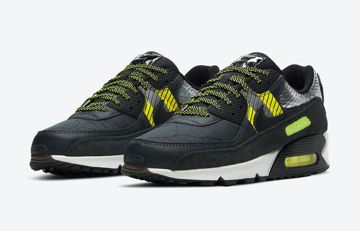 3M Nike Air Max 90 Black CZ2975-002 02