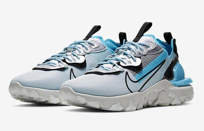 3M Nike React Vision PRM Pure Platinum Blue CU1463-003 - Fastsole