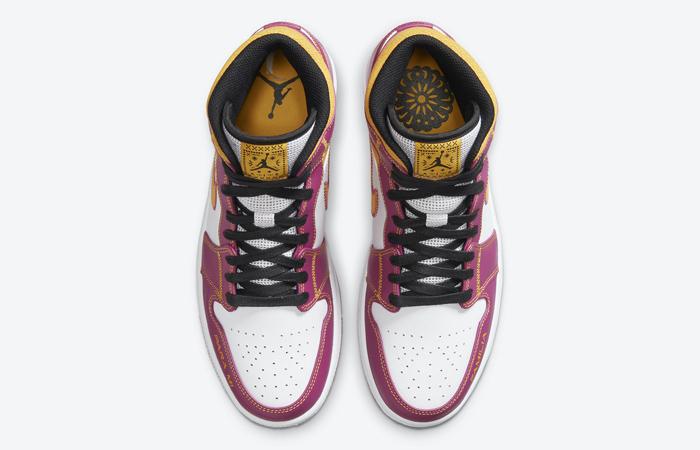 Air Jordan 1 Mid Familia Pink DC0350-100 04