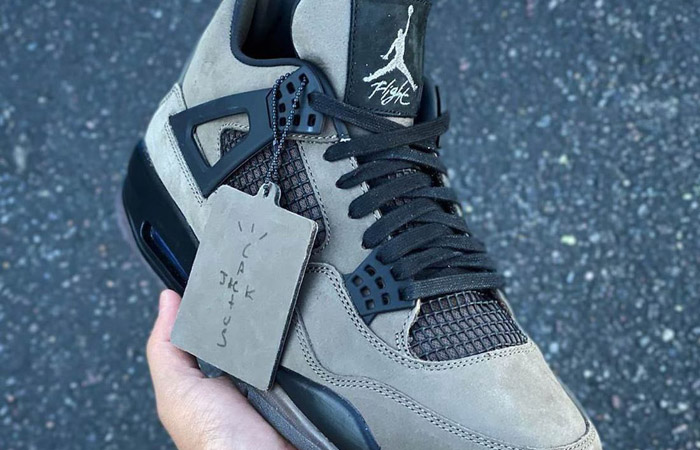 Another Travis Scott Air Jordan 4 Cactus Jack Might Be In Construction f