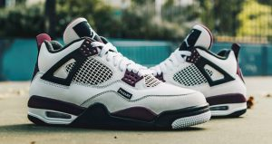 Best Shots Of PSG Jordan 4 White Berry You Have Ever Seen 01