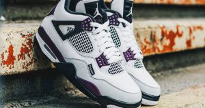 Best Shots Of PSG Jordan 4 White Berry You Have Ever Seen 02