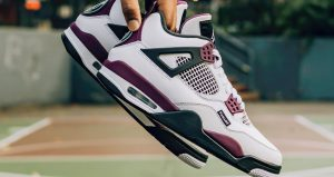 Best Shots Of PSG Jordan 4 White Berry You Have Ever Seen 03