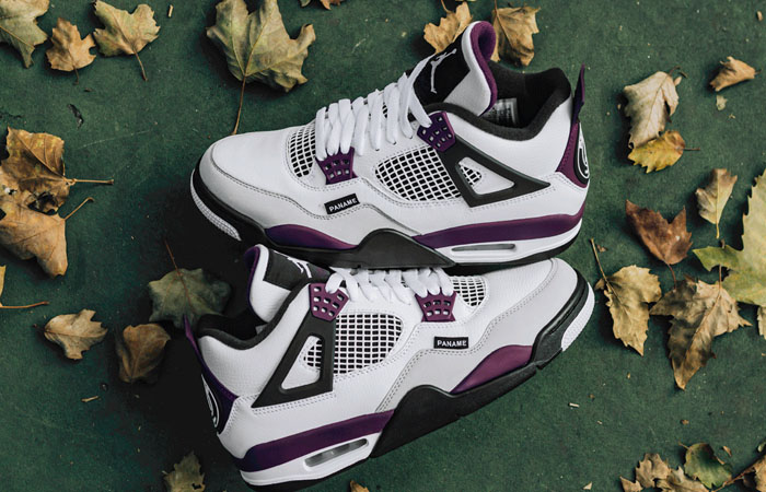 Best Shots Of PSG Jordan 4 White Berry You Have Ever Seen ft