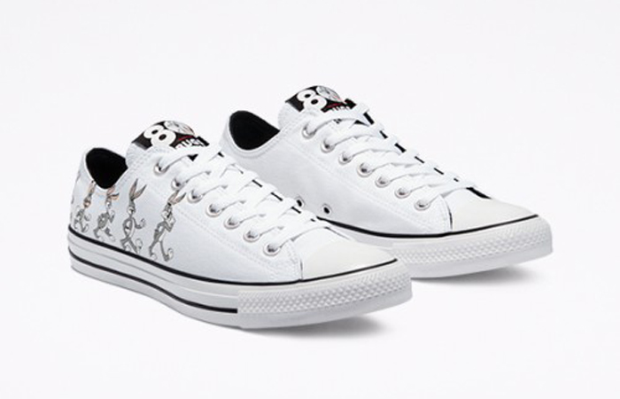 Bugs Bunny Converse Chuck Taylor All Star Low Top White 169226C 04