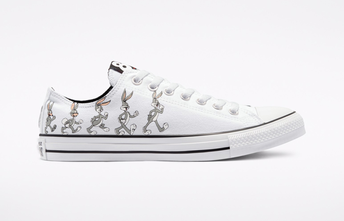 Bugs Bunny Converse Chuck Taylor All Star Low Top White 169226C 05