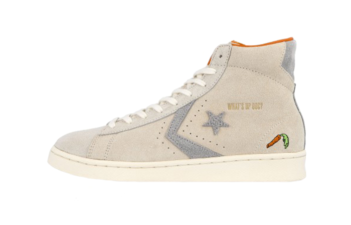 Bugs Bunny Converse Pro Leather High Top Egret 169223C 01