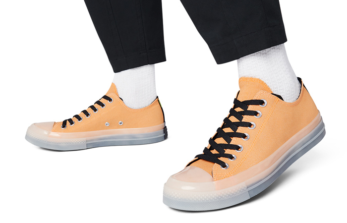 Check Out These 3 Hi-Vis And Converse Collab In Light Colourways ft