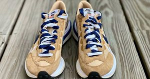Closer Snaps Of sacai Nike VaporWaffle Dark Iris And Sesame 02