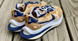 Closer Snaps Of sacai Nike VaporWaffle Dark Iris And Sesame 03