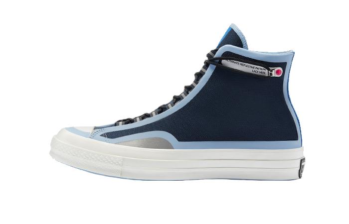 Converse Chuck 70 Hi Fuse Tape Navy Blue 169525C 01