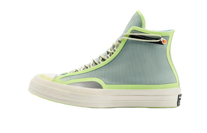 Converse Chuck 70 Hi Fuse Tape Neon Green 169526C 01