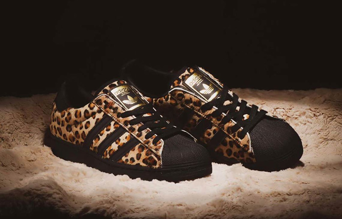Detailed Look At The atmos adidas Superstar Leopard ft