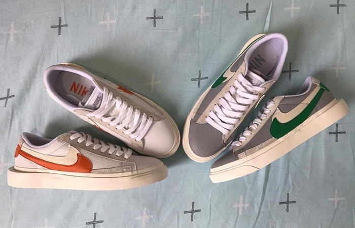 Detalied Look At The Upcoming Sacai Nike Blazer Low Pack f
