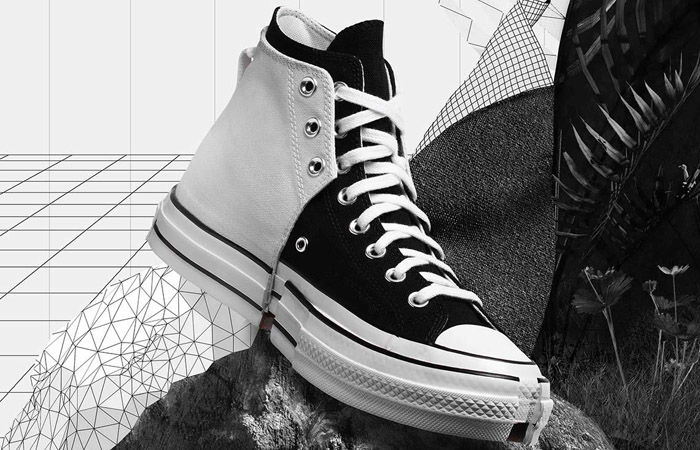 FENG CHEN WANG Converse CT70 2-in-1 Black White 169839C 02