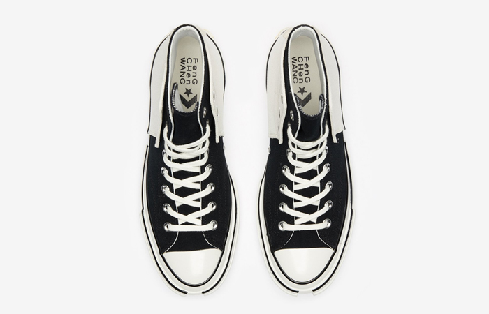 FENG CHEN WANG Converse CT70 2-in-1 Black White 169839C 06