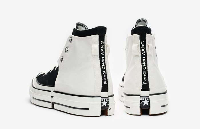 FENG CHEN WANG Converse CT70 2-in-1 Black White 169839C 07