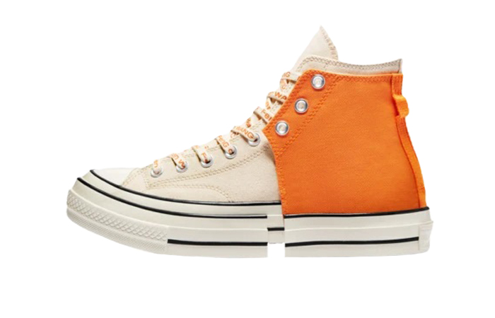 Feng Chen Wang Converse 2 In 1 Chuck 70 High Orange 169840C 01