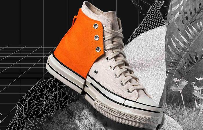 Feng Chen Wang Converse 2 In 1 Chuck 70 High Orange 169840C 02