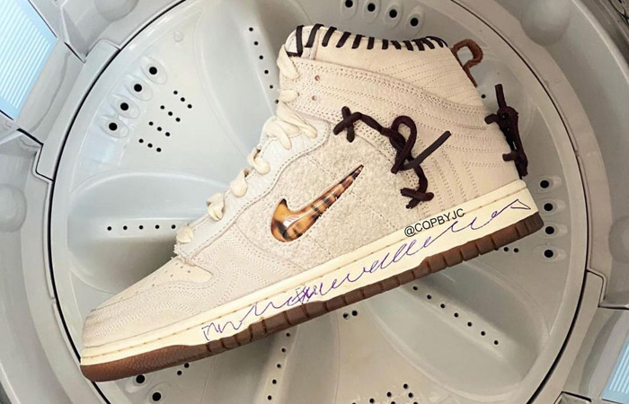 First Images Leaked For The Bodega Nike Dunk High Pearl White f
