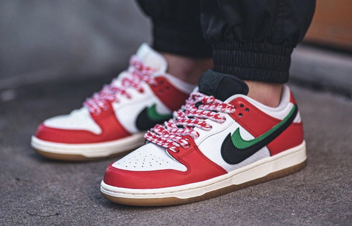 First On Foot Look At The Frame Skate Nike SB Dunk Low Habibi ft