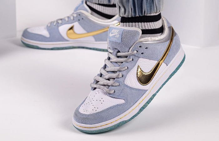 First On Foot Look At The Sean Cliver Nike SB Dunk Low ft