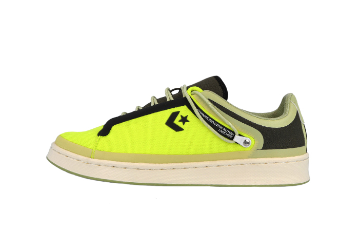 Fuse Tape Converse Pro Leather Ox Black Yellow 169523C 01