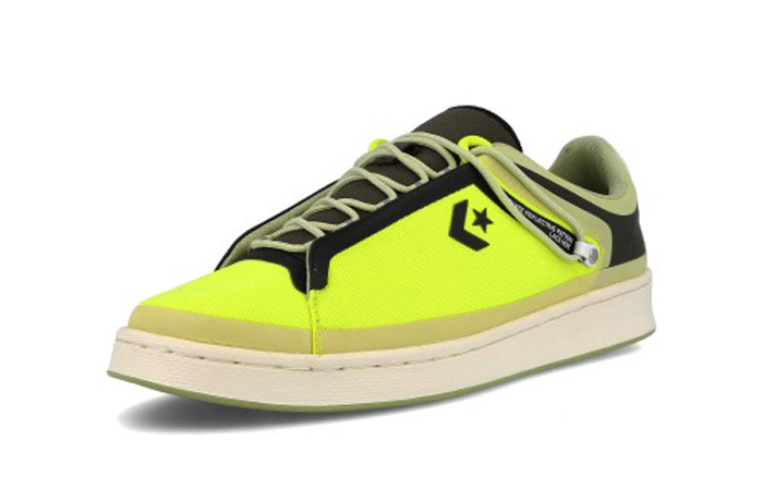 Fuse Tape Converse Pro Leather Ox Black Yellow 169523C 02