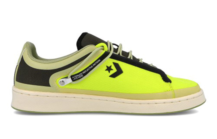 Fuse Tape Converse Pro Leather Ox Black Yellow 169523C 03
