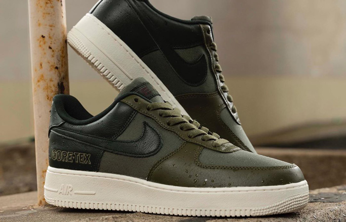 Gore-Tex Nike Air Force 1 Olive CT2858-200 02