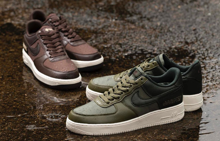 Gore-Tex Nike Air Force 1 Pack Is A New Hit In Stores! f