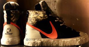 Images Leaked For The READYMADE Nike Blazer Mid Vast Grey