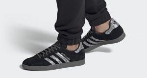 Introduce Yourself With adidas Gazelle Darksaber Black Metallic 01