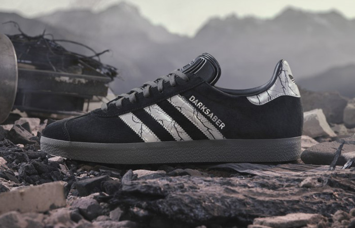 Introduce Yourself With adidas Gazelle Darksaber Black Metallic f