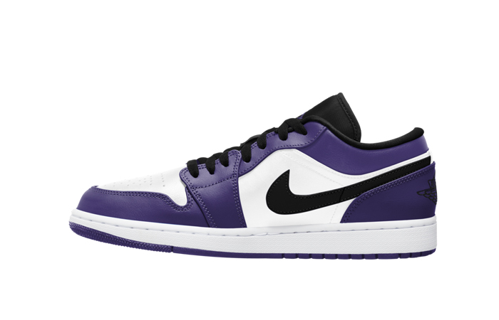 Jordan 1 Low White Court Purple 553558-500 01