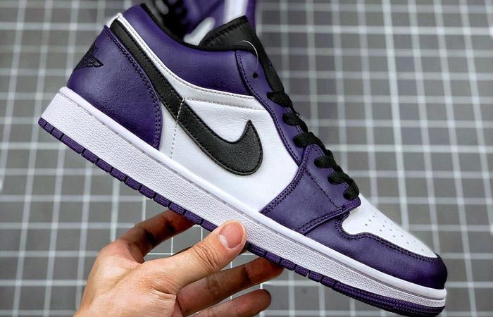 Jordan 1 Low White Court Purple 553558-500 02