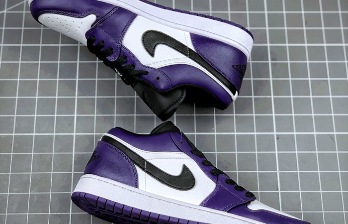 Jordan 1 Low White Court Purple 553558-500 03