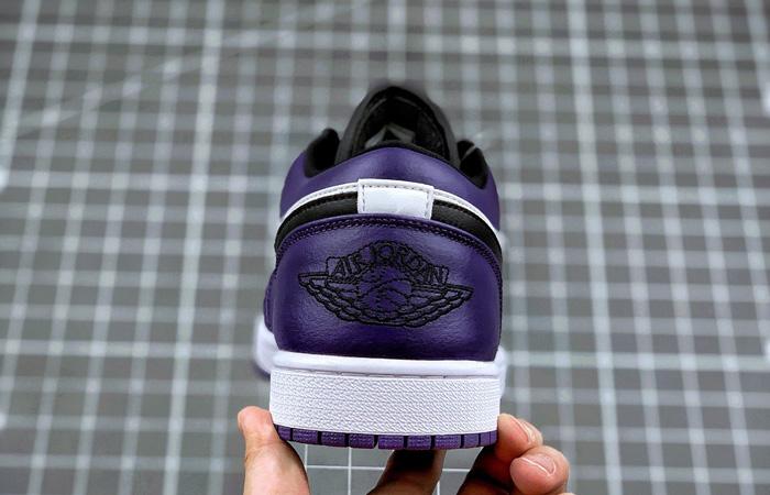 Jordan 1 Low White Court Purple 553558-500 04