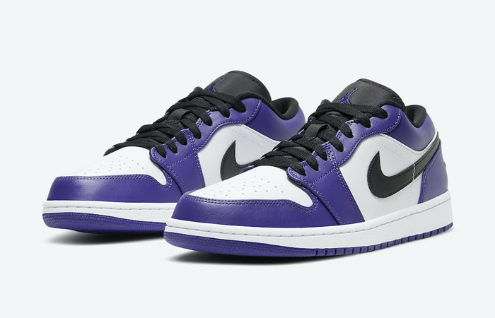 Jordan 1 Low White Court Purple 553558-500 05