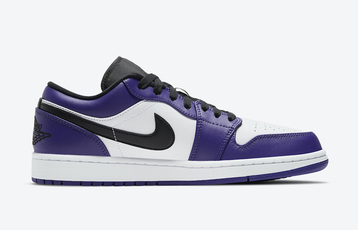 Jordan 1 Low White Court Purple 553558-500 06