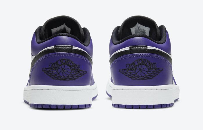 Jordan 1 Low White Court Purple 553558-500 08