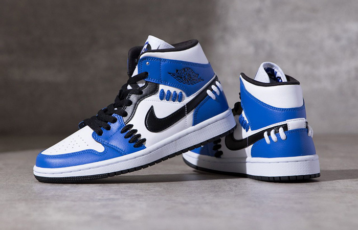 Jordan 1 Mid SE Sisterhood Royal Blue CV0152-401 06