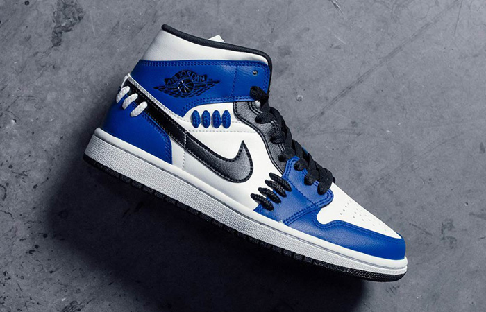 Jordan 1 Mid SE Sisterhood Royal Blue CV0152-401 08