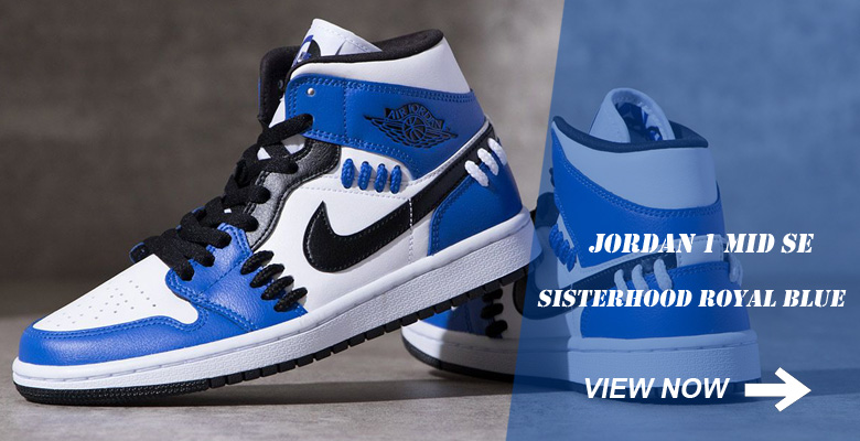 Jordan 1 Mid SE Sisterhood Royal Blue