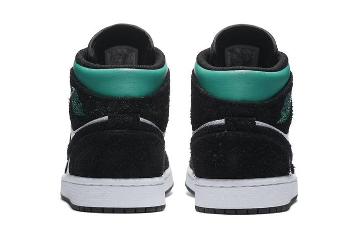 Jordan 1 Mid SE South Beach Black Pastel Green 852542-116 04