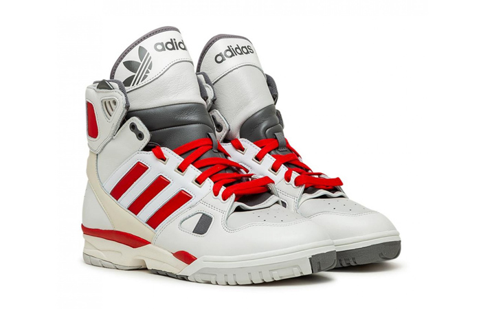 Kid Cudi adidas Torsion Artillery Hi White Red FZ0883 02