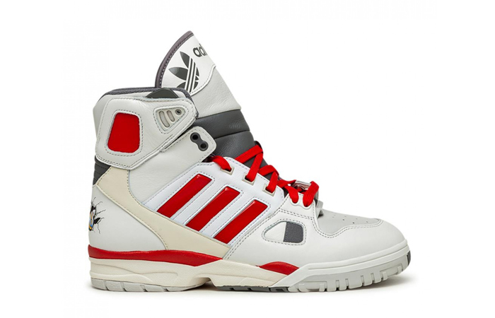 Kid Cudi adidas Torsion Artillery Hi White Red FZ0883 03